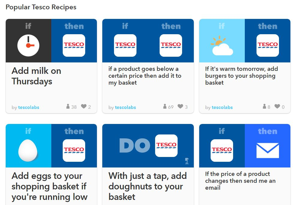 recipes tesco