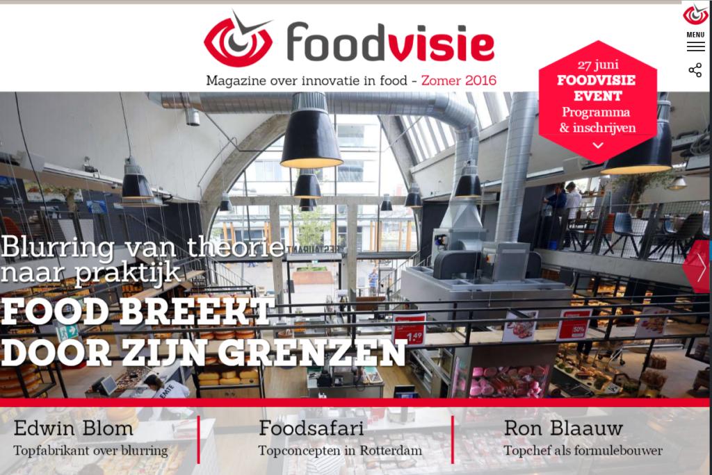 Foodvisie magazine