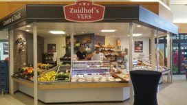 Slagerij Zuidhof verkoopt ook brood en banket